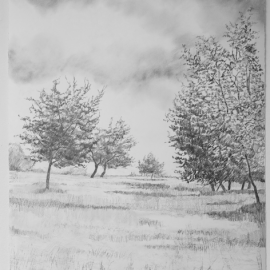 Large Drawing 9